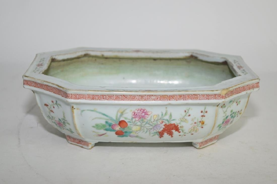 Chinese Famille Rose Narcissus Planter