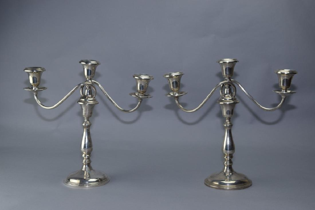 Pair of Frank M. Whiting & Company Sterling Silver