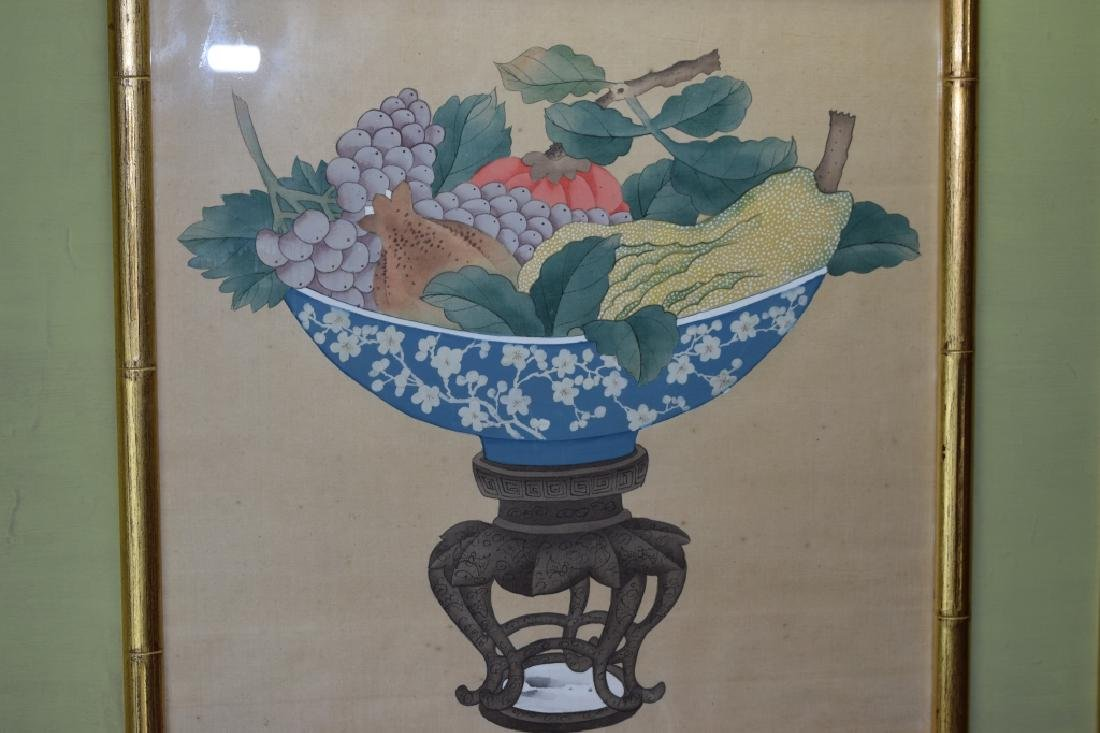 Chinese Watercolor Still Life Painting