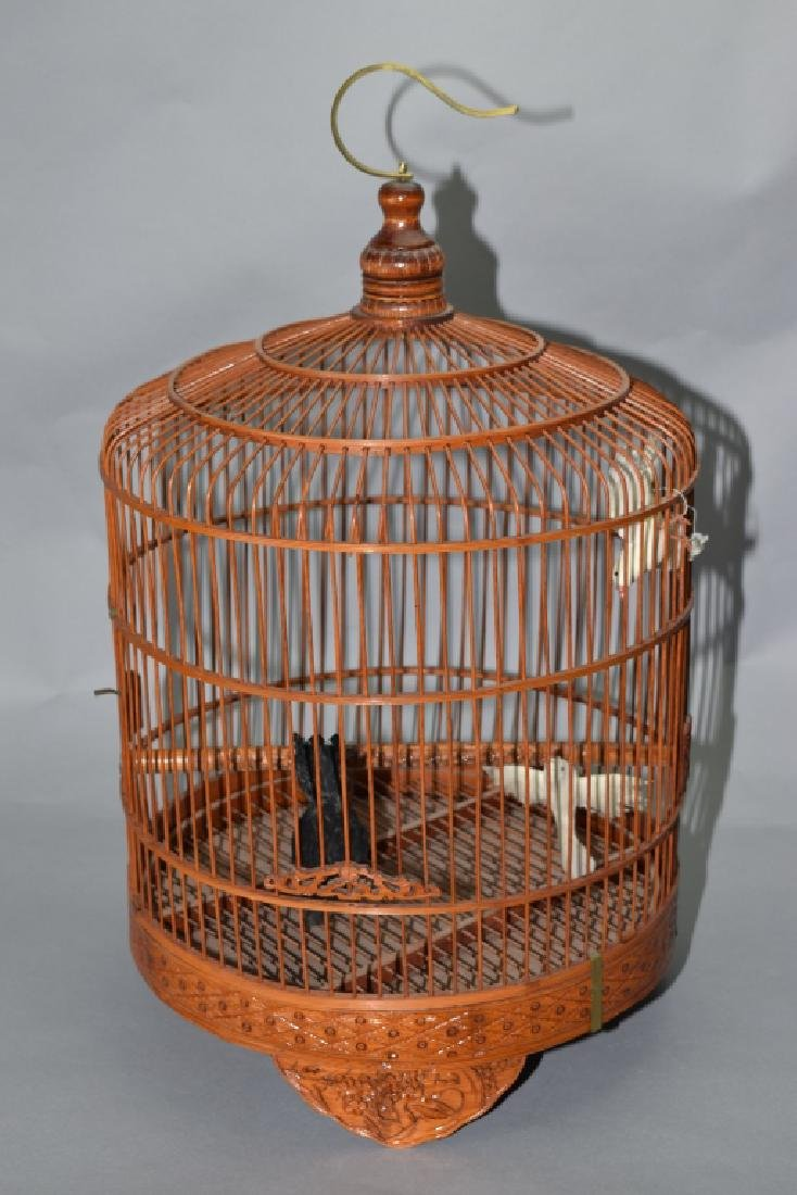 Chinese Bamboo Bird Cage
