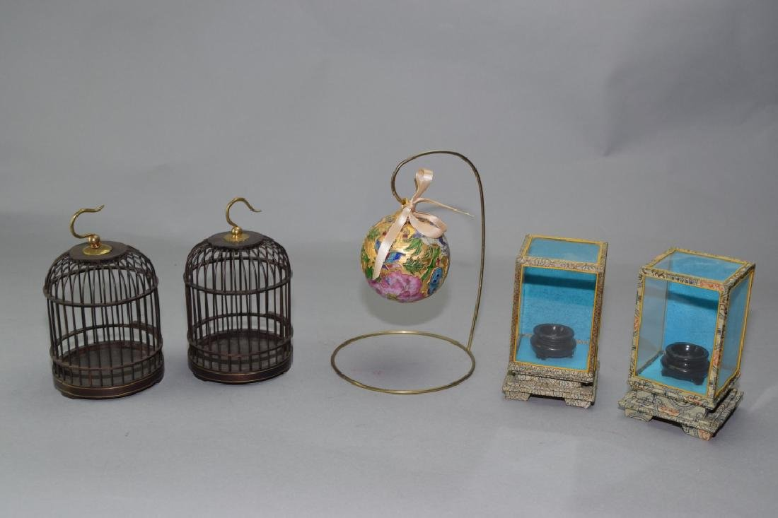 Group of Chinese Objects