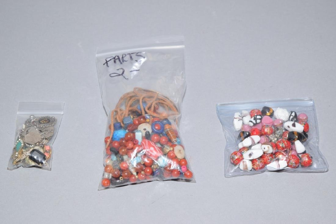Group of Costume Jewelry Beads