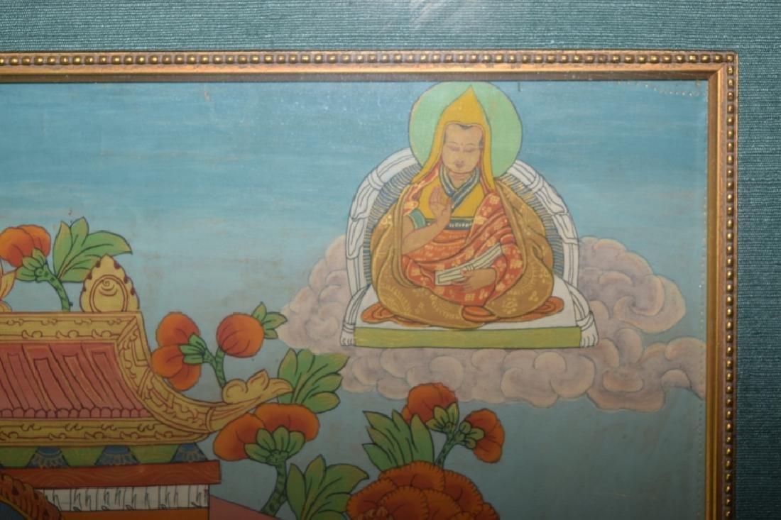 Qing Dynasty Tibetan Eleven-Face Guanyin Thangka - 7