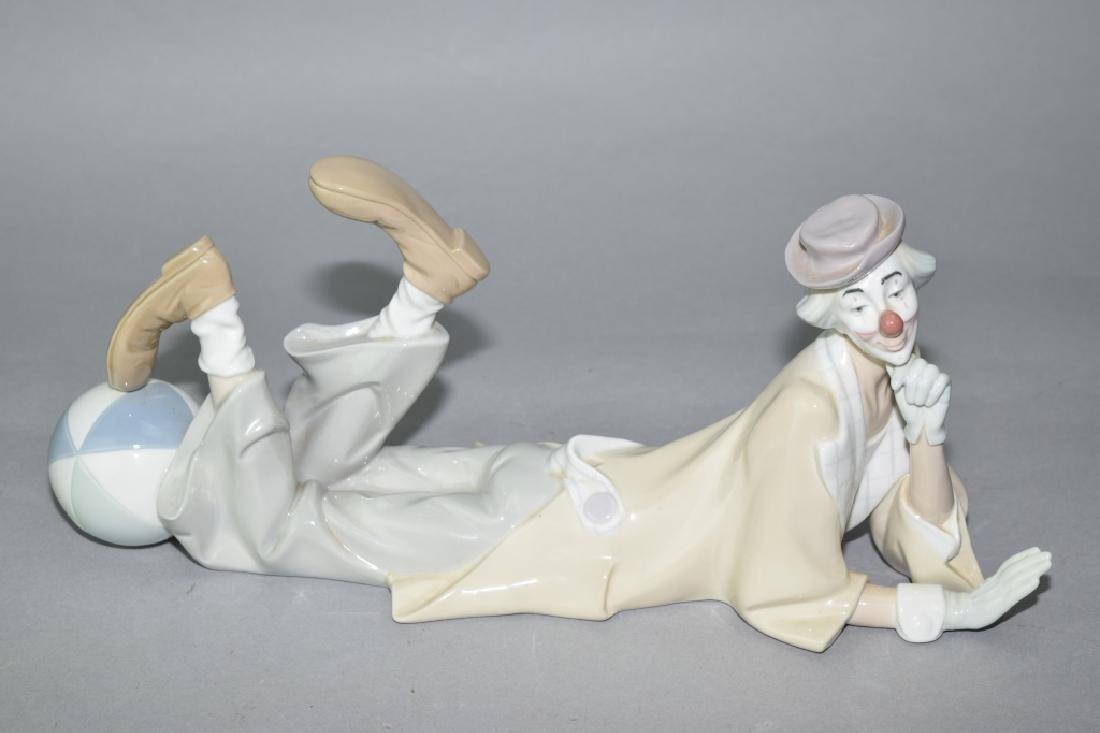 Lladro Clown Figure