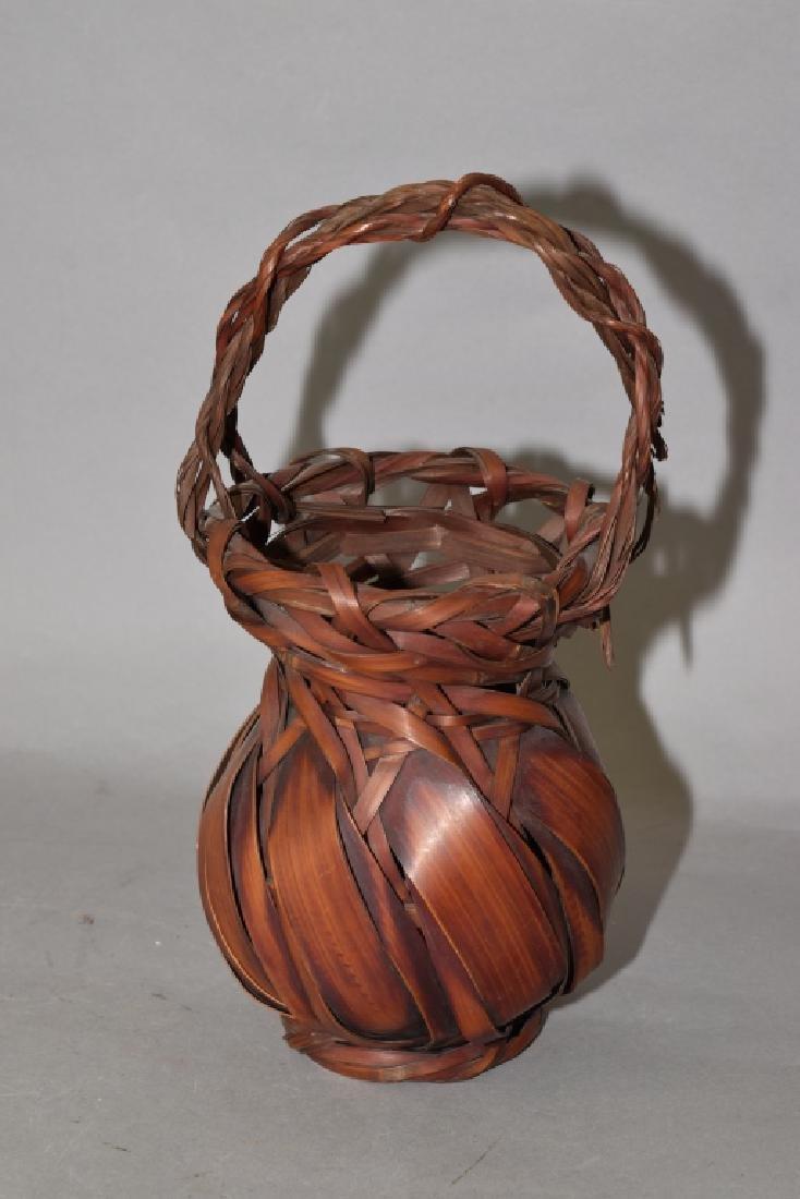 Japanese Rattan Basket