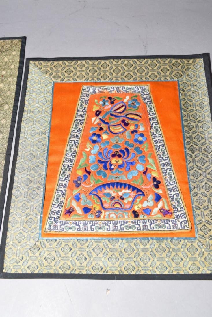 Two Chinese Embroideries - 3