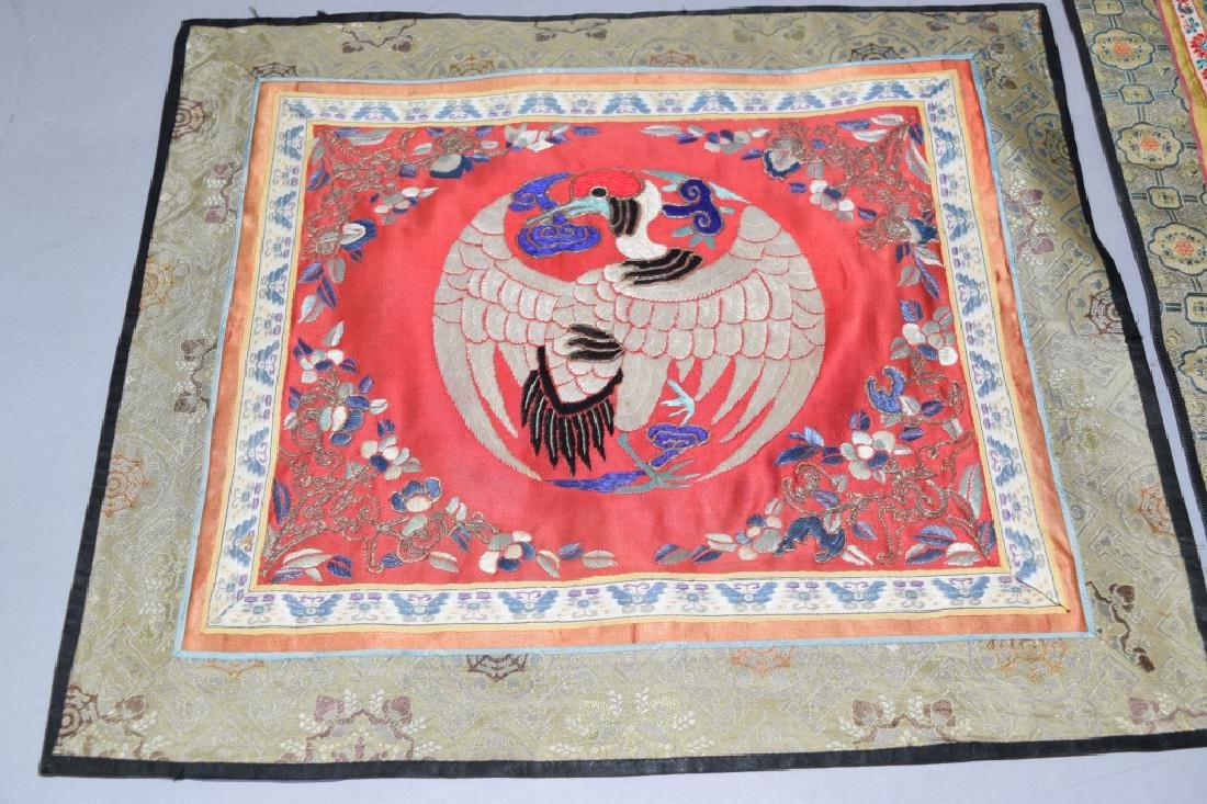 Two Chinese Embroideries - 2