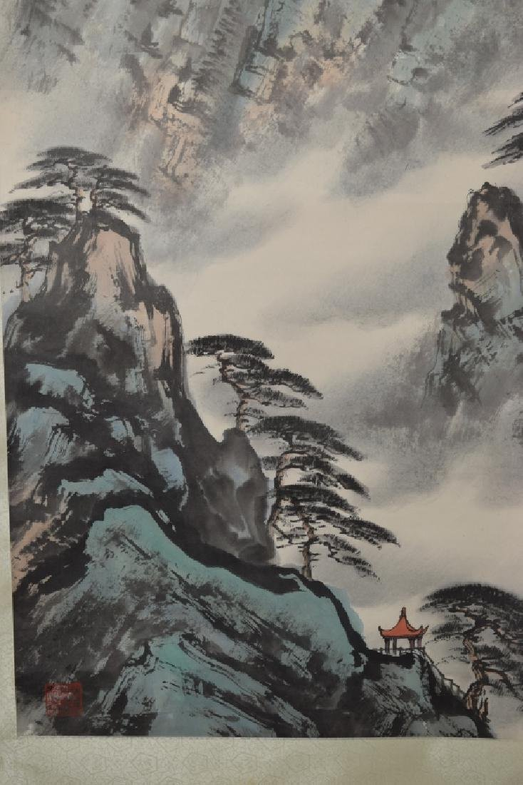 Chinese Watercolor Landscape Painting - 3