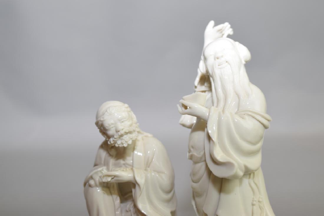 Republic Chinese Blanc de Chine Deities - 3