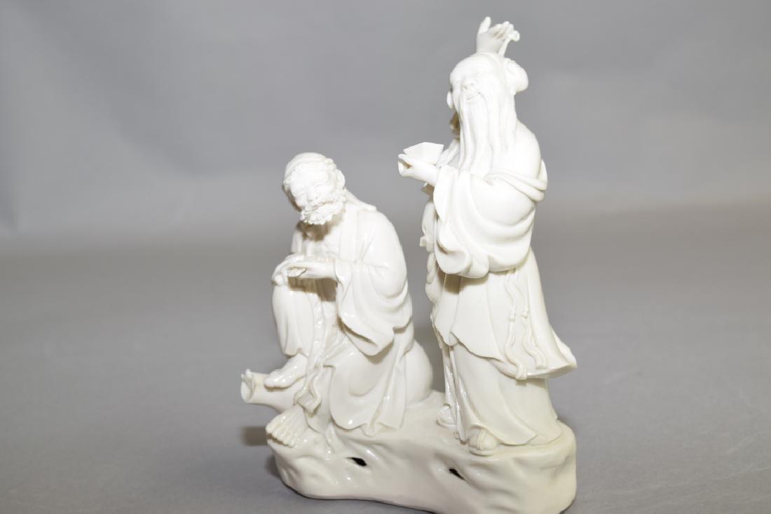 Republic Chinese Blanc de Chine Deities - 4