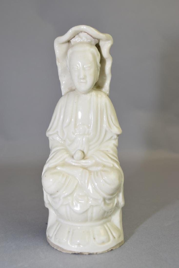 Republic Chinese Blanc de Chine Guanyin