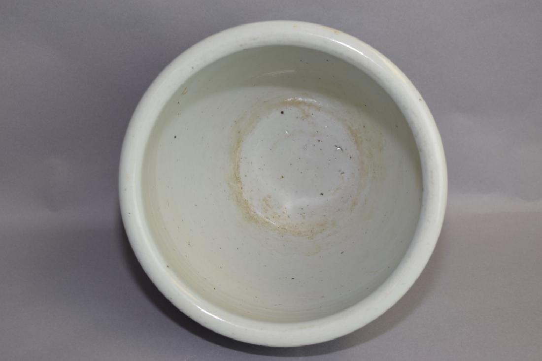 Qing Chinese Blue and White Jardiniere - 2