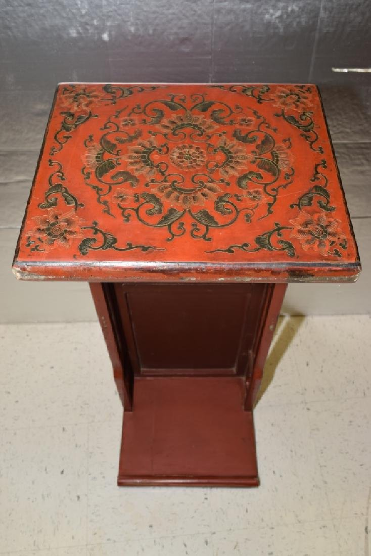 19-20th C. Chinese Filled Lacquer Dragon Table - 8