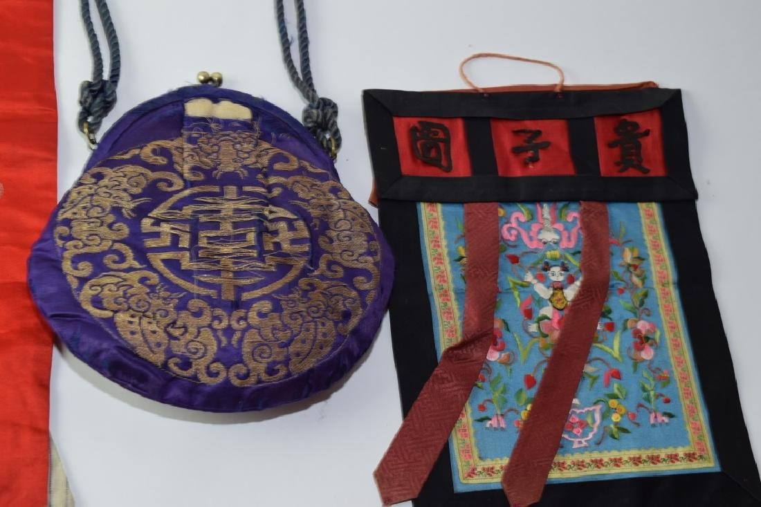 Group of Chinese Embroideries - 3