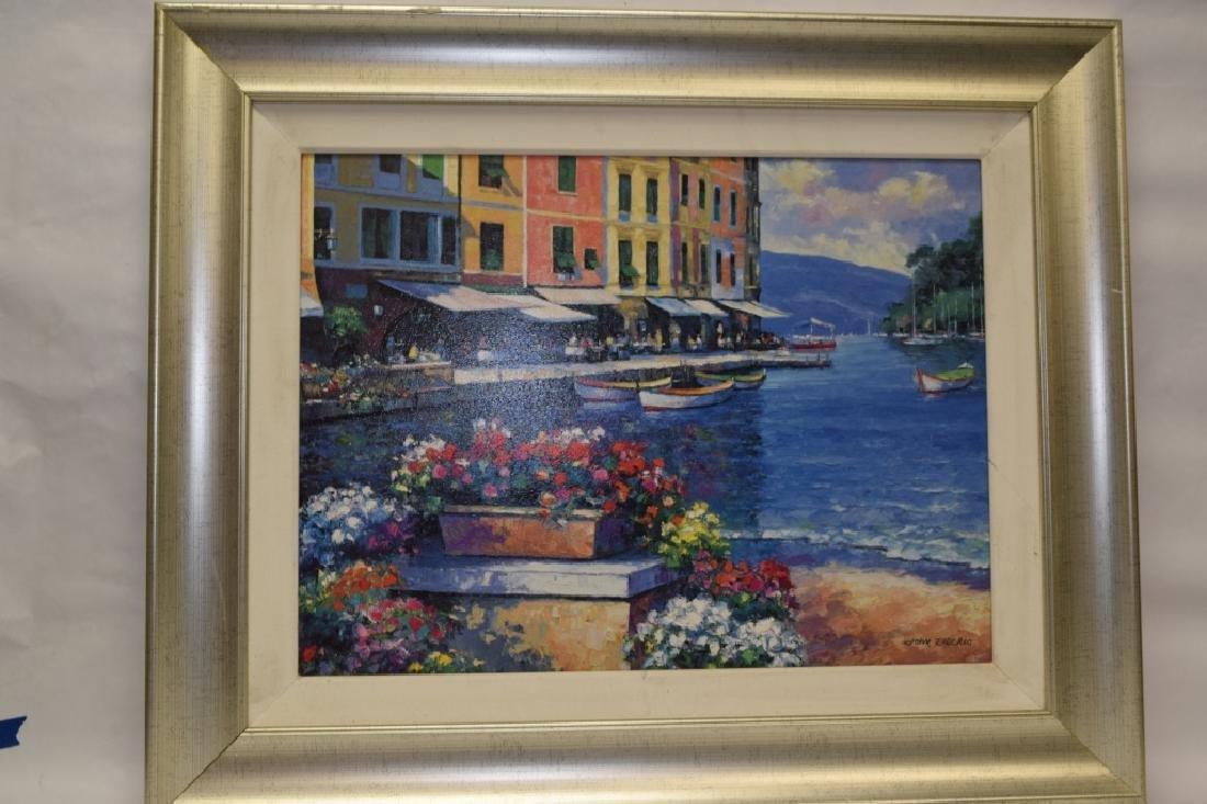 Landscape Gesso Print on Board