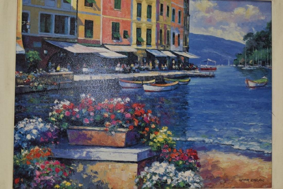 Landscape Gesso Print on Board - 2