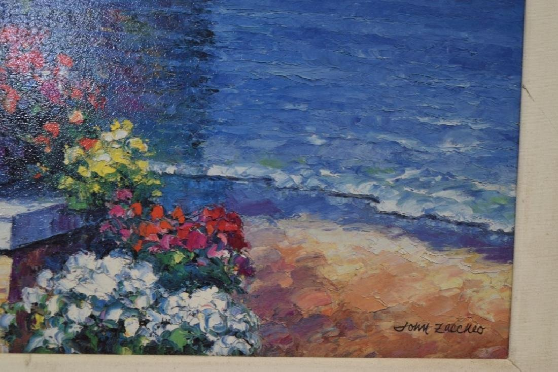 Landscape Gesso Print on Board - 3
