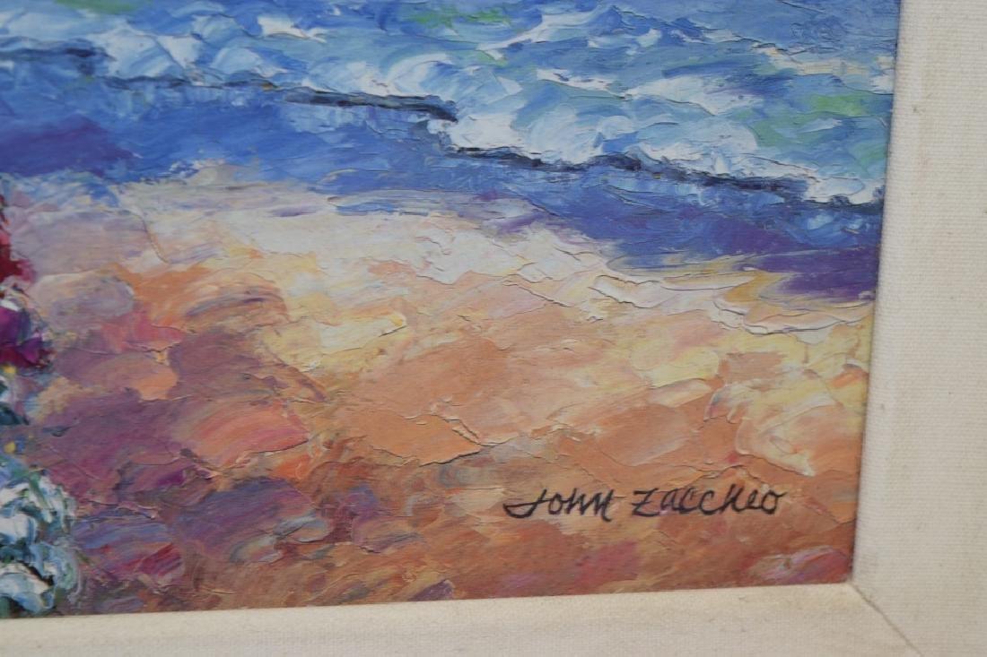 Landscape Gesso Print on Board - 4