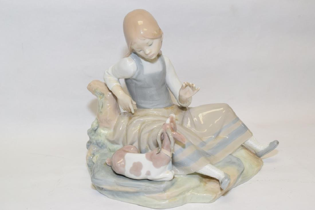 Lladro Shepherdess Figure