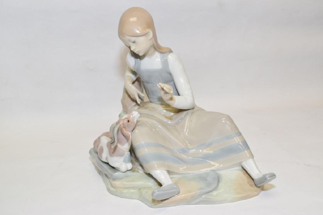 Lladro Shepherdess Figure - 4
