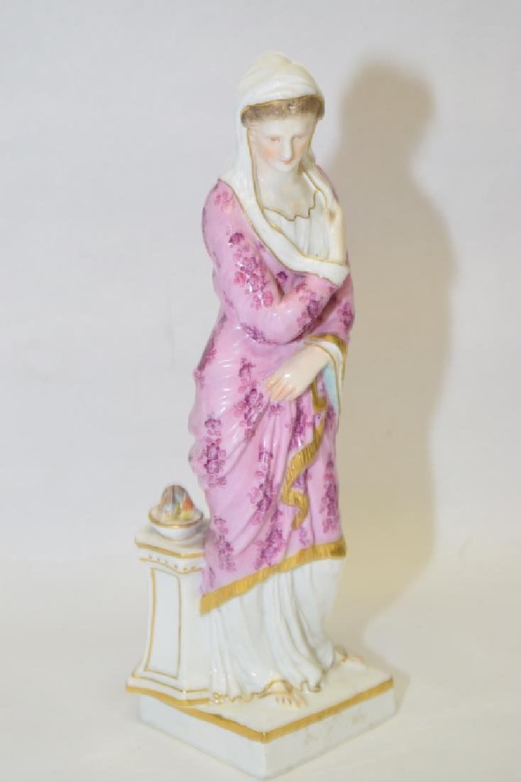 19th C. Germany Woman Figure