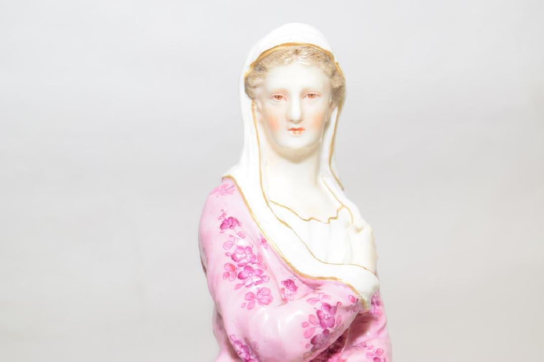 19th C. Germany Woman Figure - 3