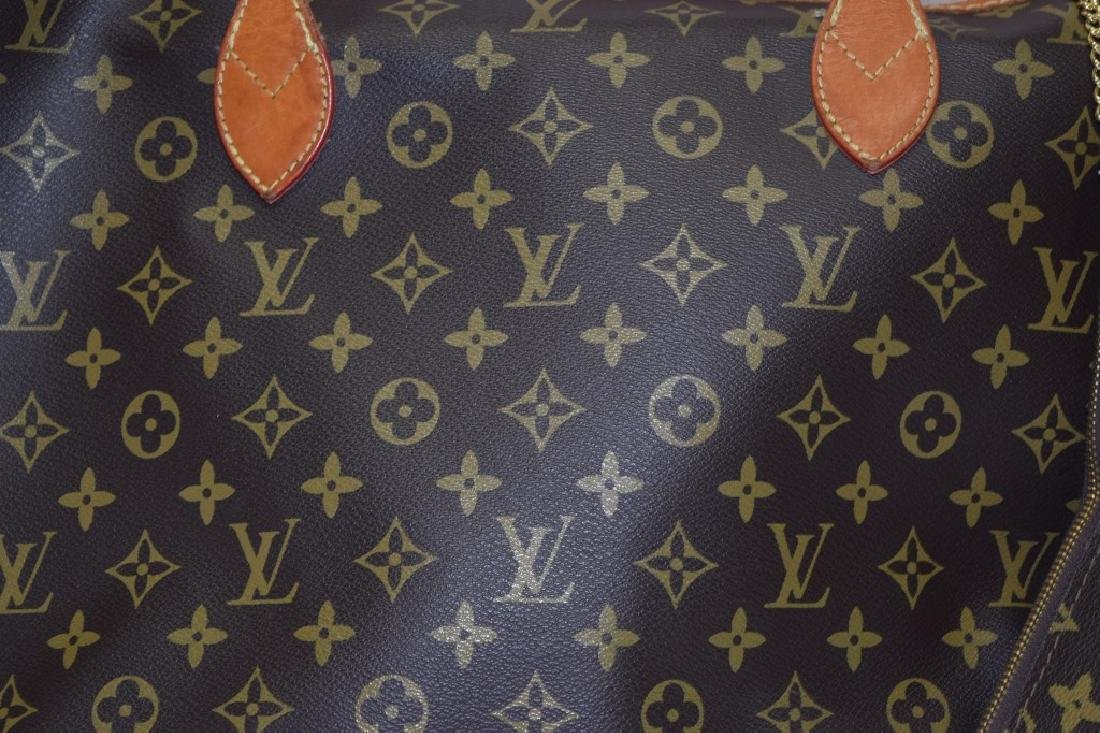 Louis Vuitton Style Large Tote with Coin Purse - 2