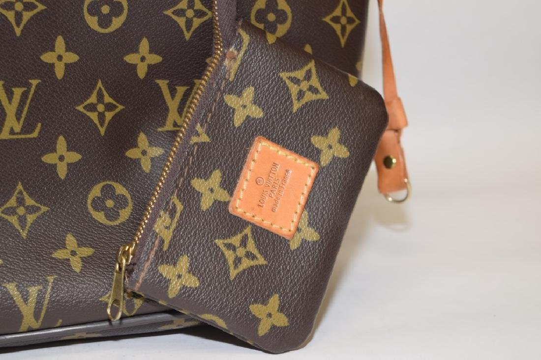 Louis Vuitton Style Large Tote with Coin Purse - 3