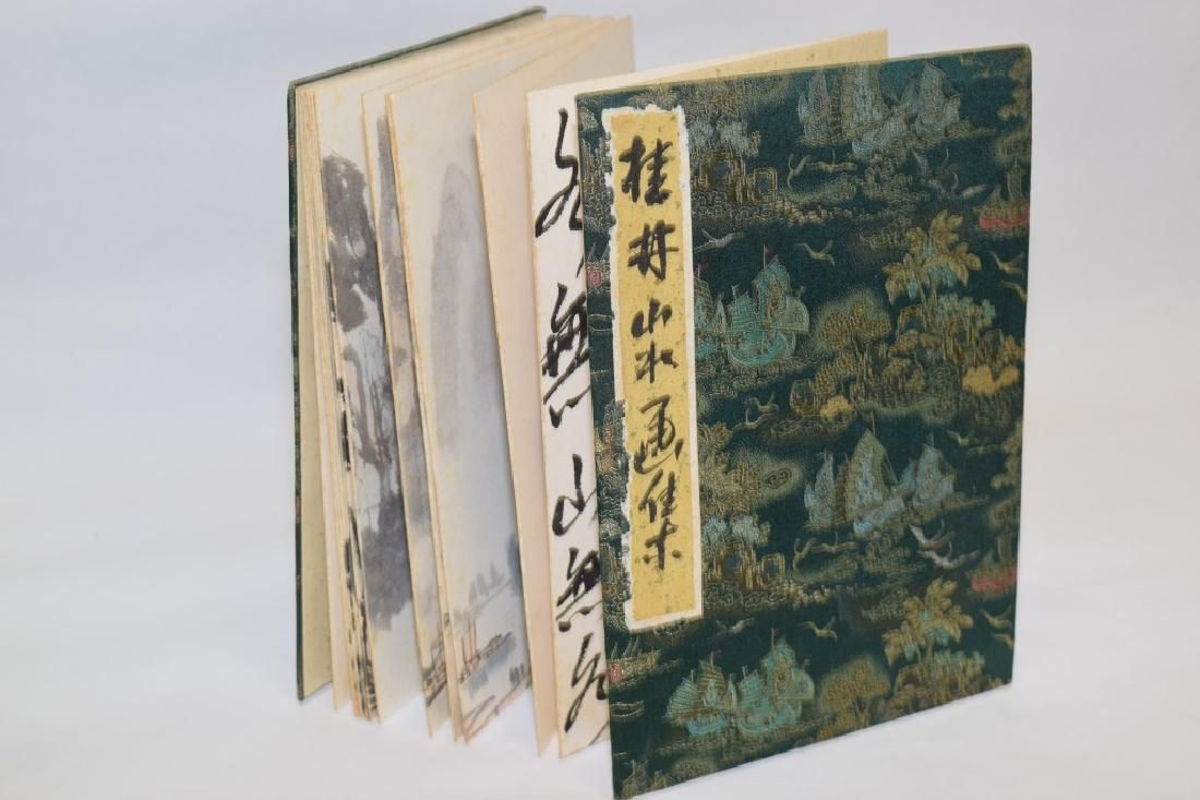 20th C. Chinese Watercolor Painting Album
