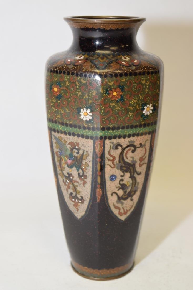 19th C. Japanese Cloisonne Vase