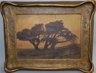After Sydney J. Yard(1855-1909) Landscape Oil on Canvas