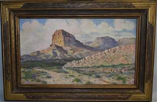 20th C. Anonymous Landscape Oil on Board