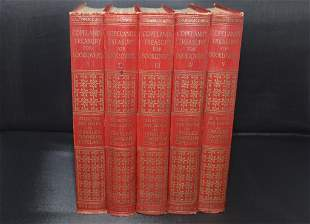 Copeland's Treasury for Booklovers (1926), 5 Vol.