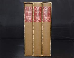 The Life of Samuel Johnson, LL.D. (1963), 3Vol.