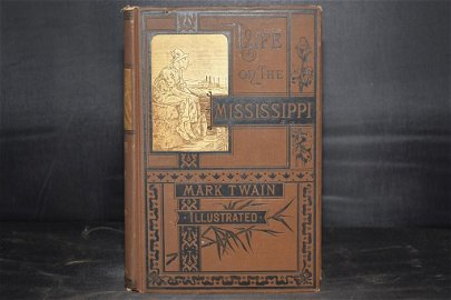 Life on the Mississippi by Mark Twain, 1883