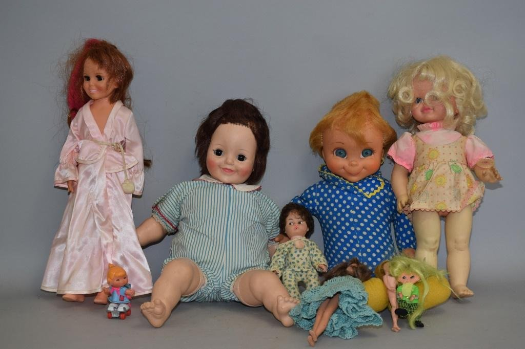 Group of Vintage Dolls
