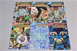 Lot of 6 Vintage DC Comic Books CRISIS