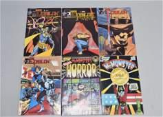 Lot of 6 Vintage Comic Books THE EPSILON, MR.MONSE