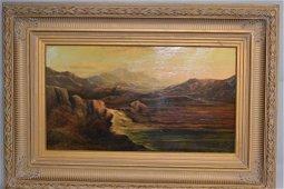 Charles Leslie (British,1835-1890) Oil Painting on