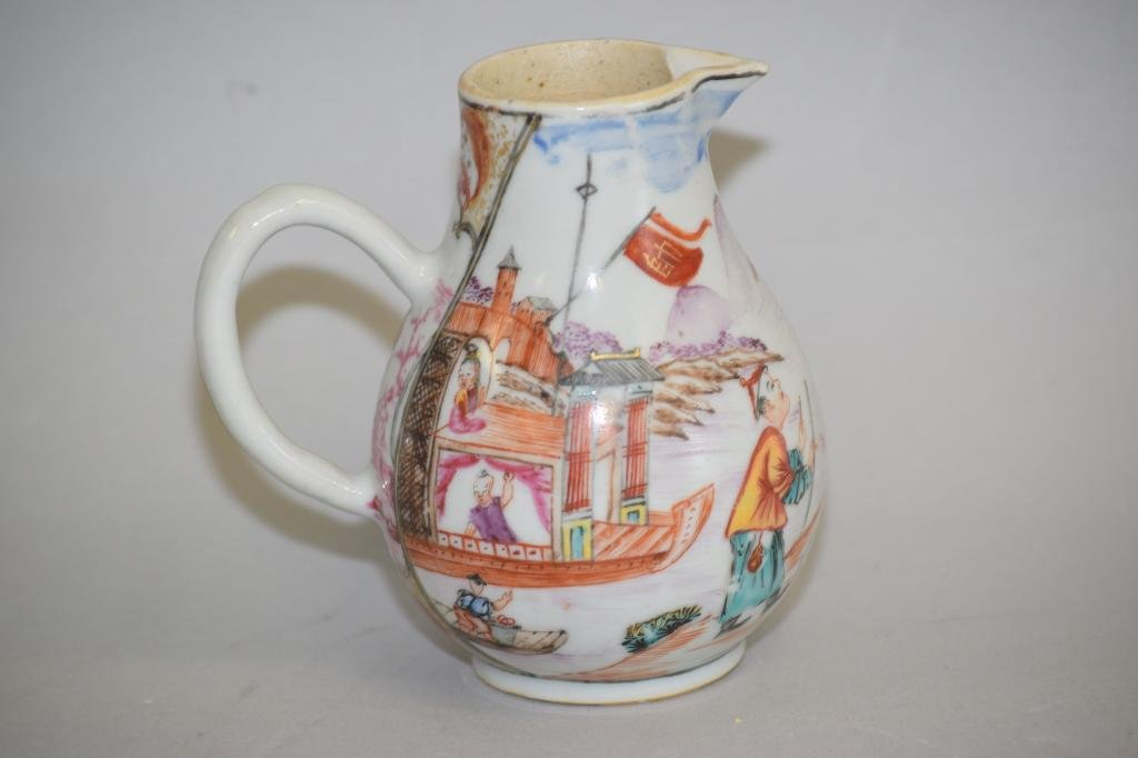 18th C. Chinese Export Famille Rose Creamer