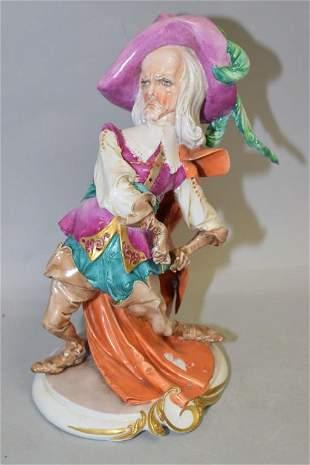 Spanish Swordsman Figurine