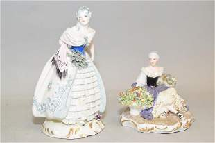 Capodimonte Maiden Figure and Made in Italy Figures