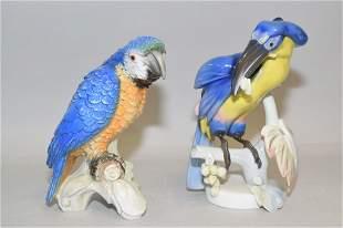 Goebel and Rosenthal Porcelain Bird Figurines
