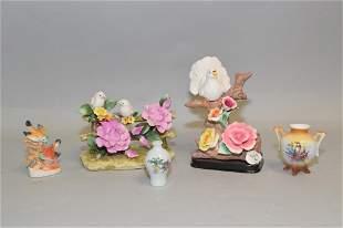 Group of Porcelain Figurines inc. Capodimonte