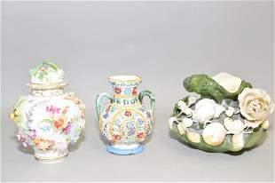 Group of Antique/Vintage Porcelain inc Carl Thieme
