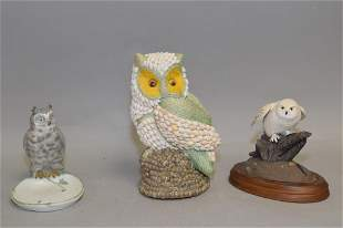 Limited Edition Snowy Owl from The Hamilton Collection