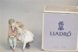 "Lladro ""Ten and Growing"" #7635 Figurine"