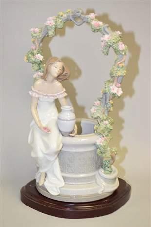 "Lladro ""A Wish for Love"" #6562 Figurine"