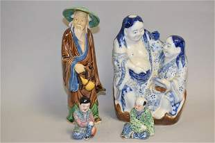 Group of 19-20th C. Chinese Porcelain Figurines