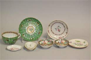 Group of 19-20th C. Chinese Porcelain Famille Rose